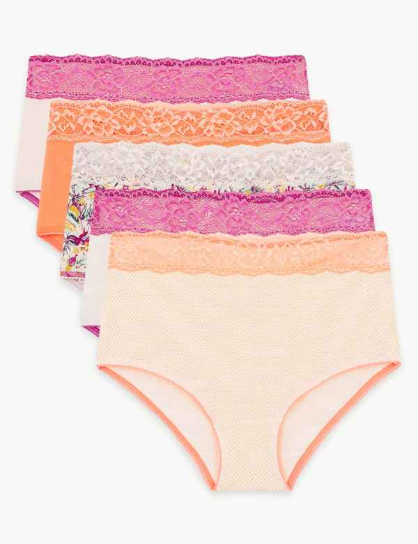 36b601c24461 Multipack Knickers | Multipack Thongs, Underwear & Briefs | M&S