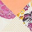 Sada 5ks bikinových kalhotek s krajkou a vysokým podílem bavlny, SVĚTLE RŮŽOVÁ MIX, swatch