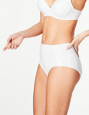 5 Pack Cotton Rich Midi Knickers