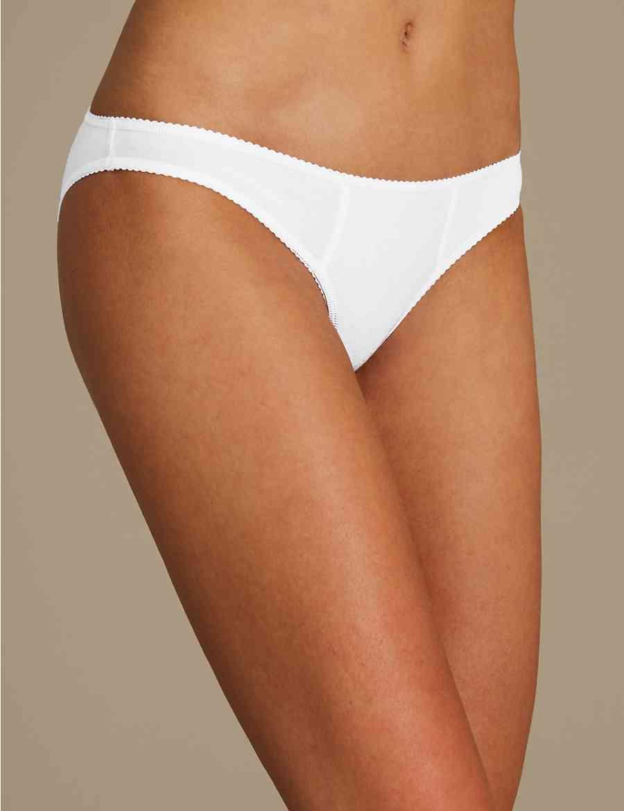 5 Pack Cotton Rich Bikini Knickers  103b11a70