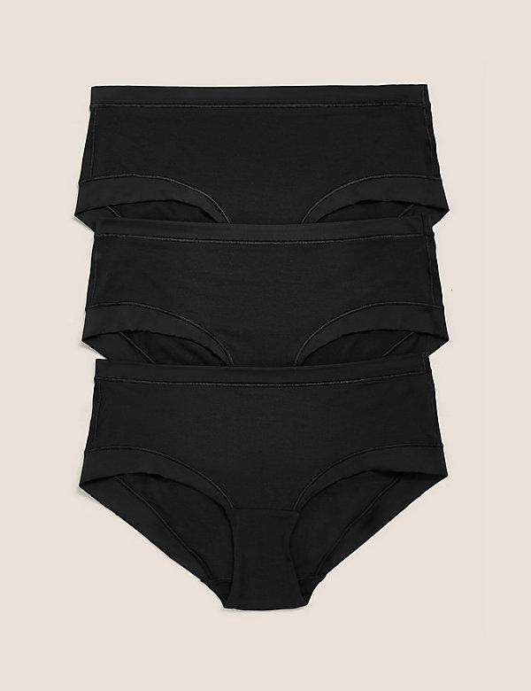 3pk Flexifit™ Modal Low Rise Shorts