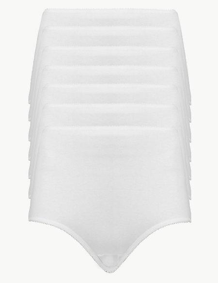 7 Pack Cotton Rich Bikini Knickers