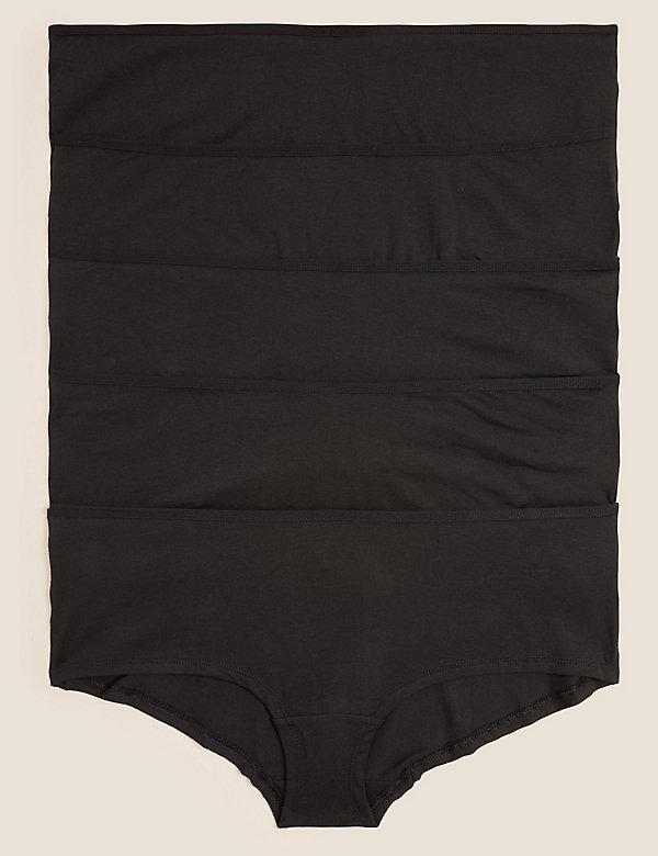 5pk Cotton Lycra® Low Rise Shorts