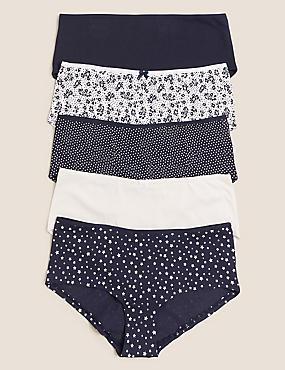 5pk Cotton Lycra® Shorts