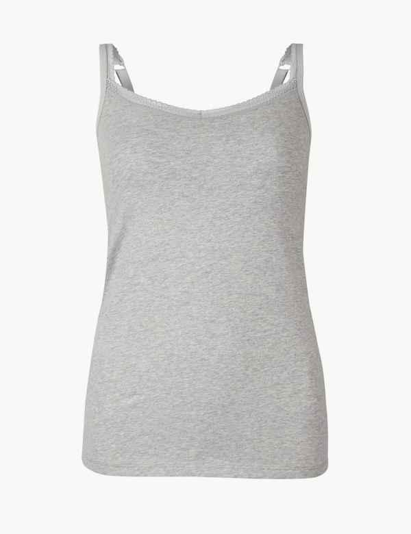 b71d2b97c6a Secret Support Crop Tops   Vests for Women
