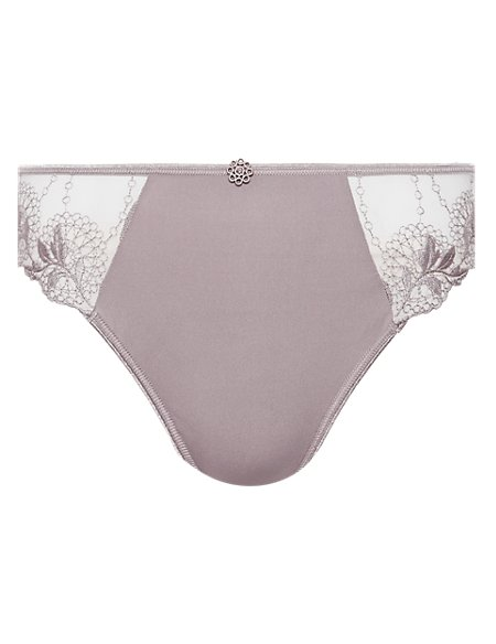 Oriental Leaf High Rise Knickers
