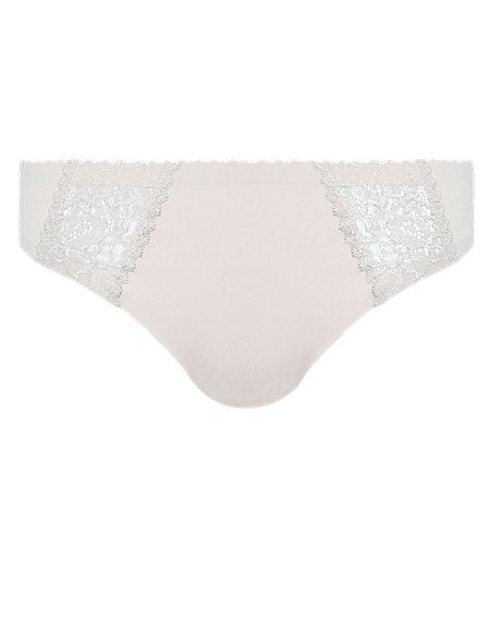 No VPL Lace Low Rise Thong