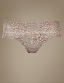 No VPL Floral Lace Thong