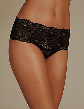 No VPL Floral Lace Thong