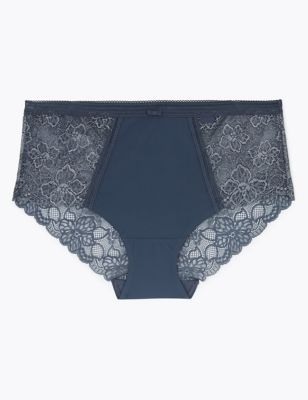 Body™ Lace Sparkle Midi Knickers