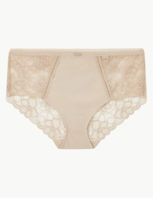Body™ Lace Back Midi Knickers