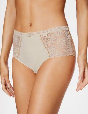Body – Midi-Slips mit Spitze hinten