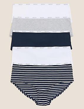 5pk Supima Cotton Body Knicker Shorts