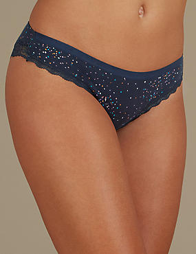 3 Pack Cotton Rich Brazilian Knickers