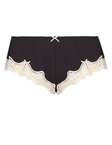 French Lace Low Rise Knickers