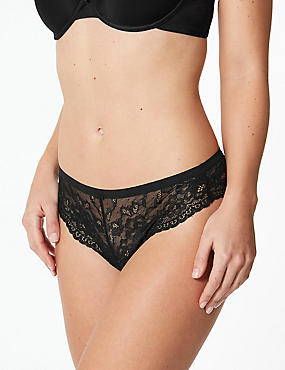 Butterfly Lace Thong