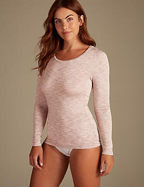 Heatgen™ Thermal Marl Long Sleeve Top