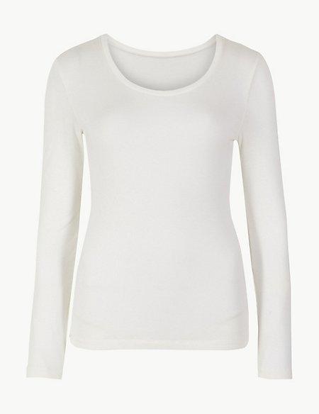 Heatgen™ Ribbed Thermal Long Sleeve Top