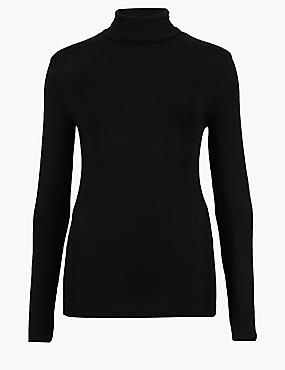 Heatgen™ Thermal Polo Neck Top
