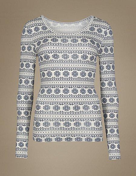 Heatgen™ Long Sleeve Thermal Vest Top