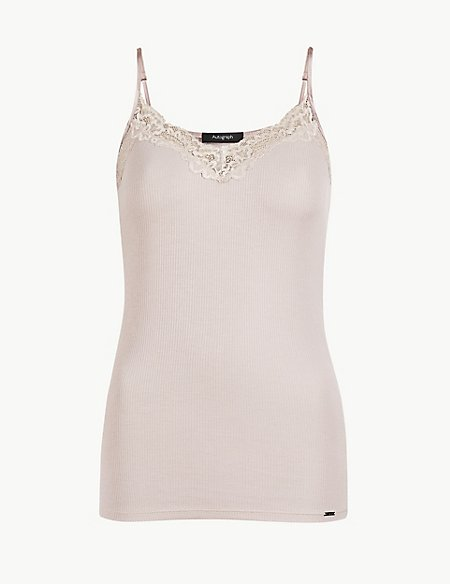 Camisole with Silk