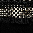 Geometric Lace Trim Low Rise Shorts , BLACK, swatch