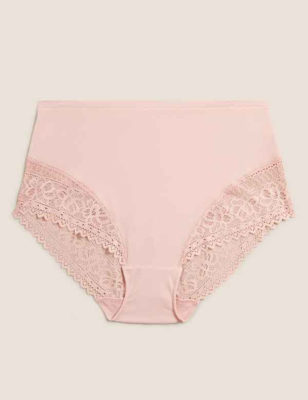 fbcff4e00c94 Sumptuously Soft Lace Full Briefs. New. M&S Collection