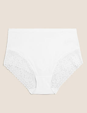 Sumptuously Soft™ Lace Full Briefs