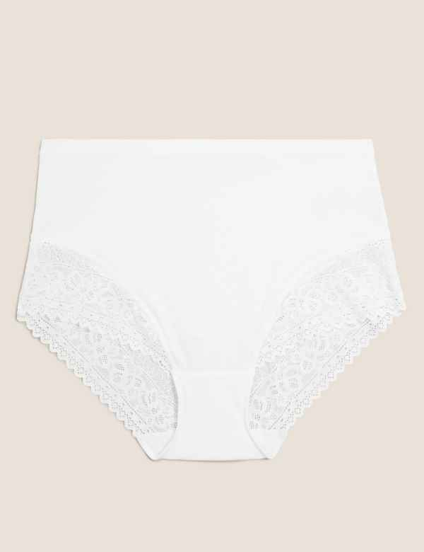 930eb36645a3 Sumptuously Soft Lace Full Briefs. New. M&S Collection