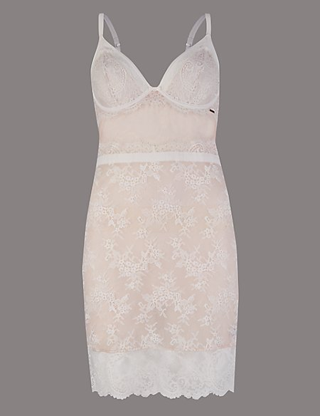 Lisette Lace Underwired Bridal Slip A-D