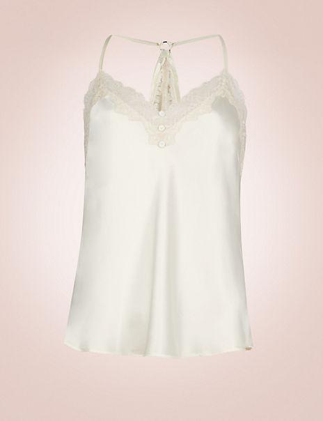 Silk & Lace Swing Camisole