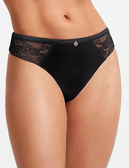 No VPL Lace Thong