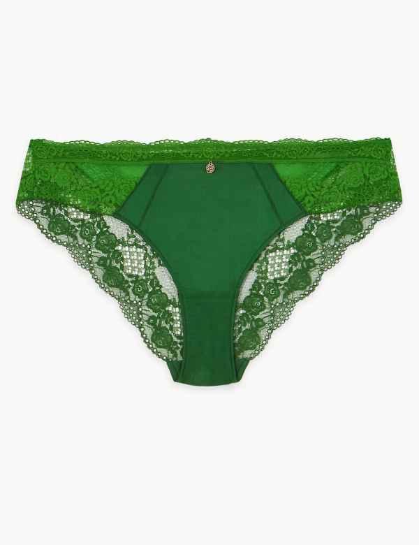 6a84d8ed3d88 Silk & Lace Brazilian Knickers
