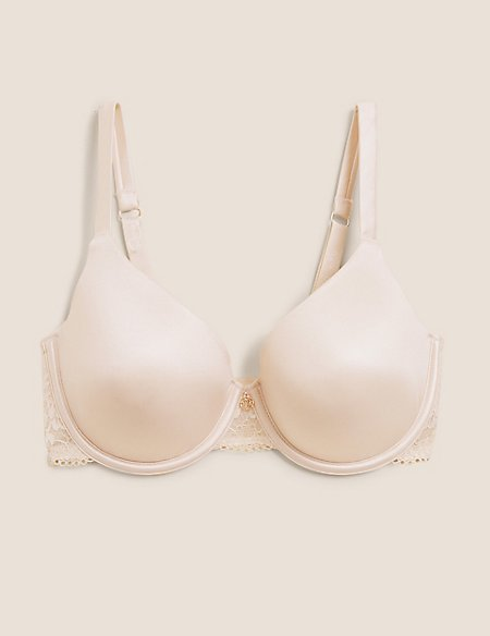 Underwired Smoothing T-Shirt Full Cup Bra A-E