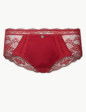 Silk & Lace Shorts