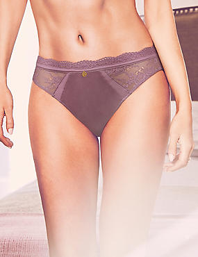 Silk & Lace Thong