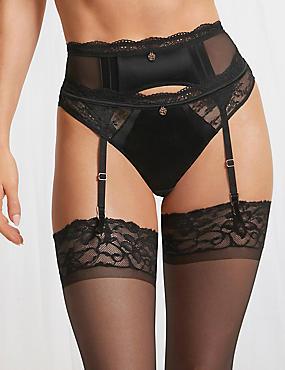 Silk & Lace Suspender