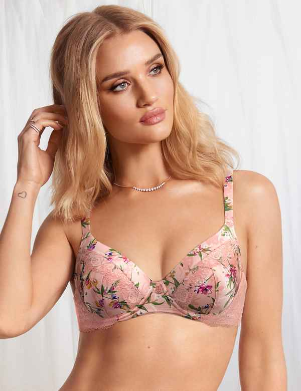 1f993c295e4fc Silk Blend Padded Full Cup Bra A-E