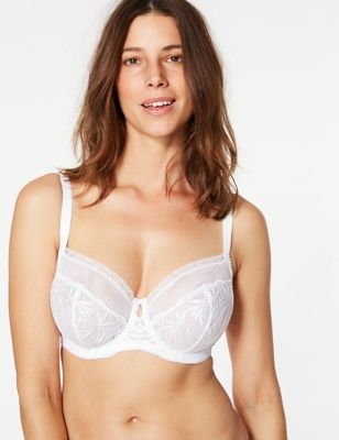 Athena Embroidered Balcony Bra DD-G