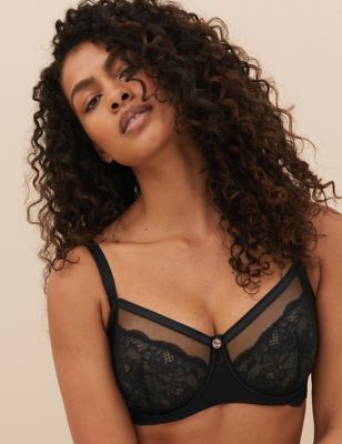 Silk & Lace Minimiser Bra