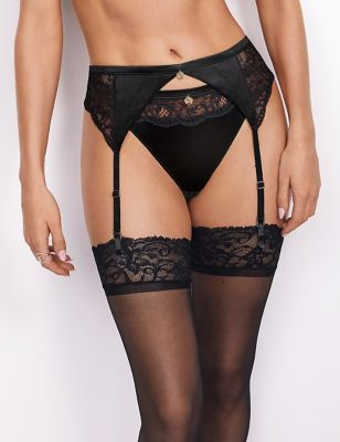 Silk & Lace Suspender