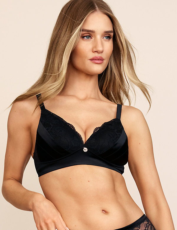 Non Wired Push Up Bralette A-DD