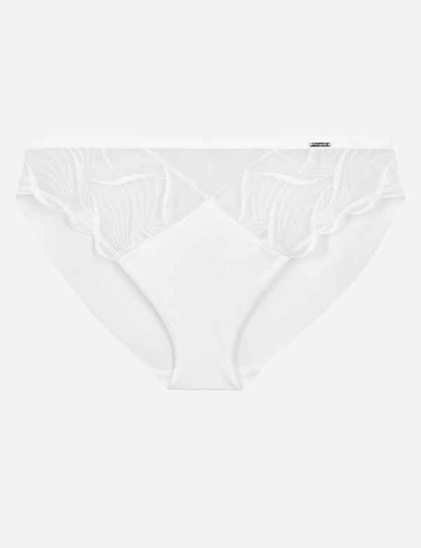 366a660f6f5 Swiss Embroidered High Leg Knickers