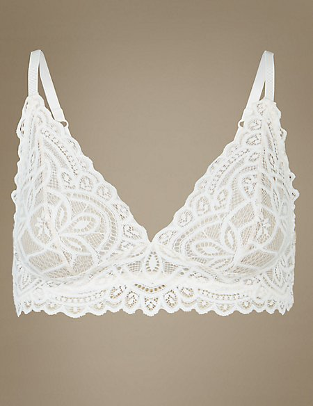 Lace Non-Padded Bralet