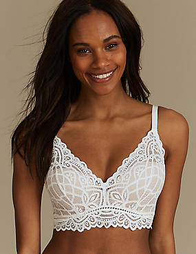 Lace Set with Padded Plunge A-E