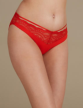 Lace High Leg Knickers