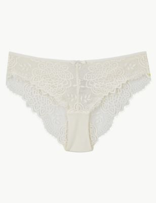 Crochet Lace Brazilian Knickers