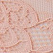 Crochet Lace Brazilian Knickers, PEACH MIX, swatch