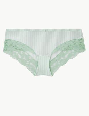 Lace Low Rise Shorts