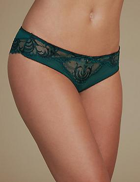 Sophia Lace Brazilian Knickers